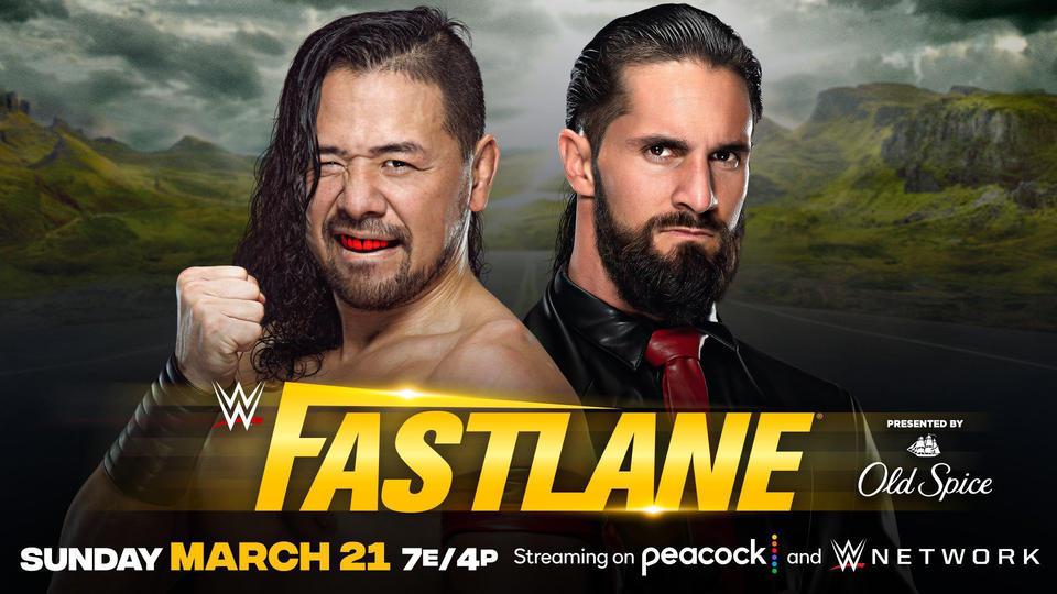 Seth Rollins vs Shinsuke Nakamura Announced For WWE Fastlane