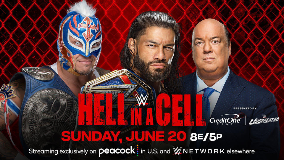 Roman Reigns vs Rey Mysterio Now Official For Hell In A Cell