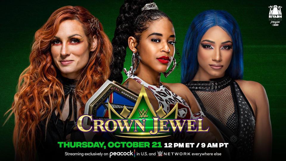 Huge Triple Threat Women's Title Match Announced For WWE Crown Jewel