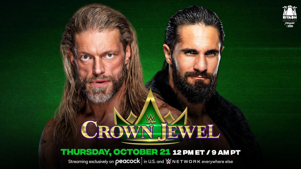 Edge - Seth Rollins Hell In A Cell Match Set For WWE Crown Jewel