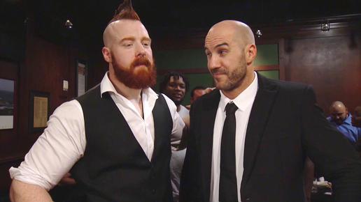 Lutadores independentes participam de segmento entre Cesaro e Sheamus durante o WWE RAW desta semana