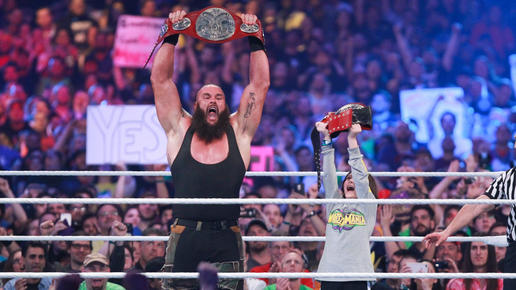 A kid named Nicholas just won the Raw Tag Team Titles with Braun Strowman