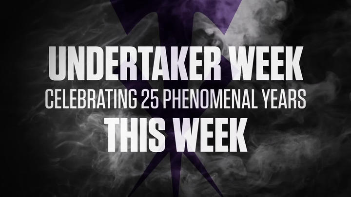 Undertaker Week: Celebrating 25 Phenomenal Years on WWE Network | WWE