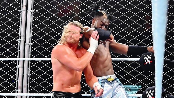 WWE Champion Kofi Kingston def  Dolph Ziggler (Steel Cage