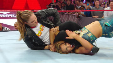Ronda Rousey and Mickie James