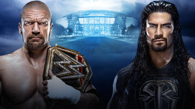 Official page for WWE WrestleMania