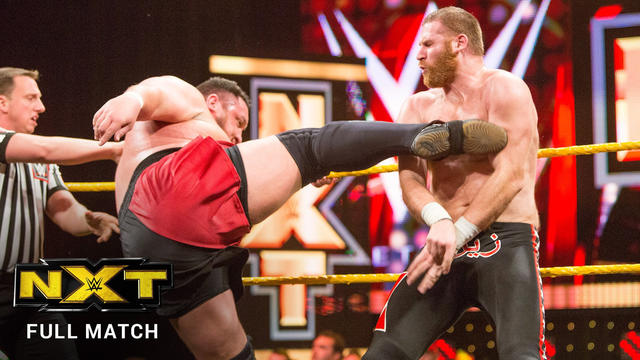 Samoa Joe vs. Sami Zayn - NXT Title No. 1 Contender's 2-out-of-3 Falls Match (FULL MATCH): WWE NXT, March 9, 2016 (WWE Network Exclusive)