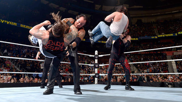 The Brothers of Destruction vs. The Wyatt Family: Survivor Series 2015