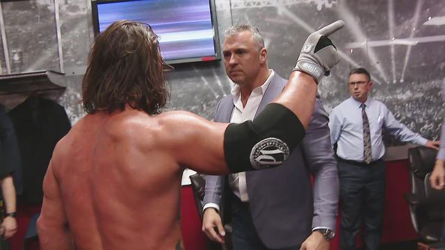 Image result for aj styles shane mcmahon