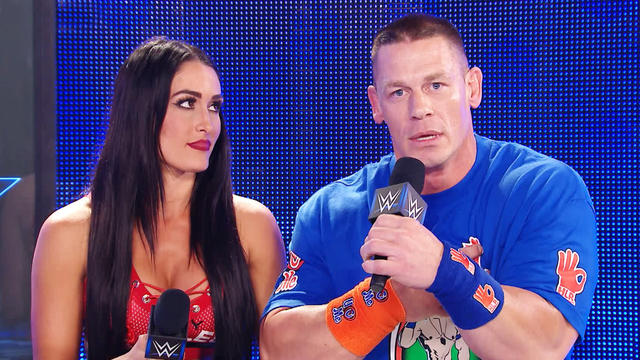 John Cena and Nikki Bella respond to being made fun of by The Miz: WWE Talking Smack, March 21, 2017 (WWE Network Exclusive)