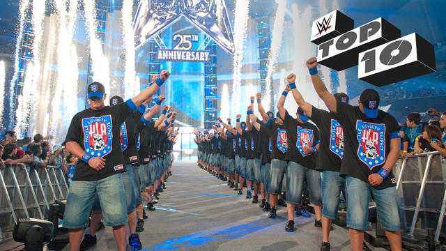 20 Greatest WrestleMania Entrances - WWE Top 10 Special Edition, March 27, 2017
