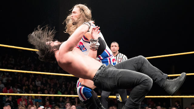 Kassius Ohno vs. Elias Samson - Loser Leaves NXT Match: WWE NXT, March 29, 2017