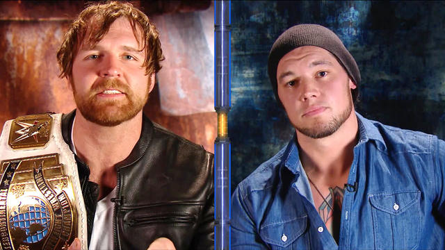 Dean Ambrose crosses the line during pre-WrestleMania interview with Baron Corbin: WWE Talking Smack, March 28, 2017 (WWE Network Exclusive)