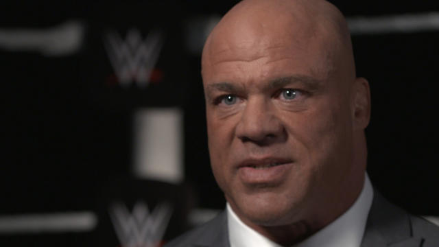 Kurt Angle on going into the WWE Hall of Fame (WWE Network Exclusive)