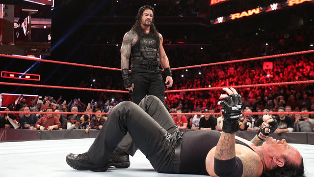 Roman Reigns' message to The Undertaker on Twitter