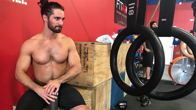 Seth Rollins gives an update on his knee as he prepares for WrestleMania