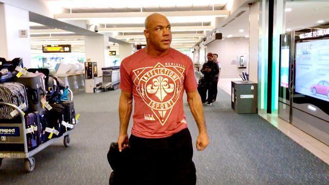 Kurt Angle describes how he's feeling as he arrives in Orlando for the WWE Hall of Fame