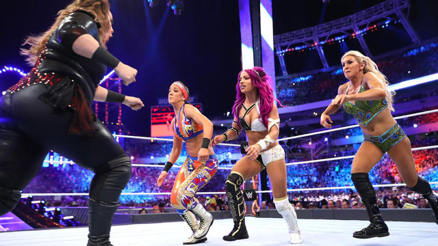 Image result for wrestlemania 33 women's match