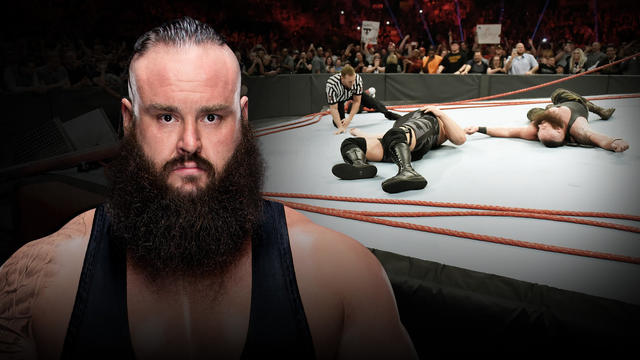 Braun Strowman breaks internet, ring, and referee John Cone