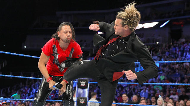 Dolph Ziggler crashes Shinsuke Nakamura's interview: SmackDown LIVE, April 25, 2017
