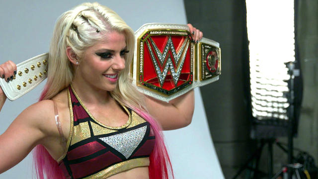 Alexa Bliss' first photo shoot as Raw Women's Champion: WWE.com Exclusive, April 30, 2017