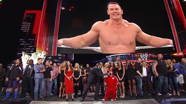 Wwe Superstars And Divas Sing Happy Birthday To John Cena Wwe