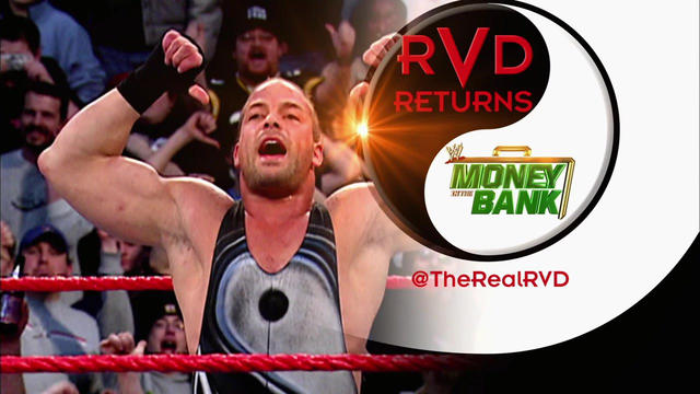 rob van dam returns to wwe at money in the bank wwe