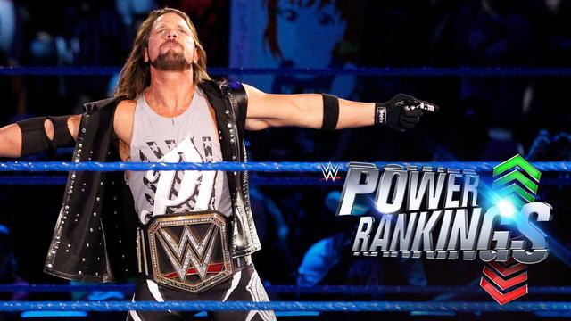 WWE Power Rankings   WWE