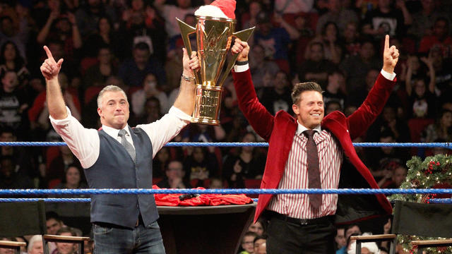 Shane Mcmahon Agrees To Be The Mizs Tag Team Partner Smackdown