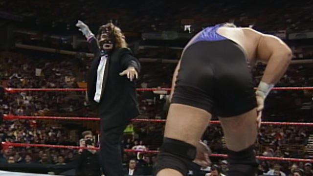Image result for WWE Survivor Series 1998 Mankind vs Al Snow wwe.com