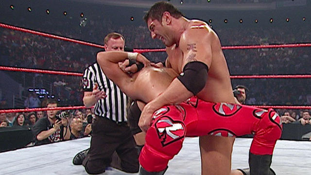 Image result for armageddon 2003 Shawn vs Batista