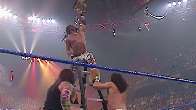 Image result for armageddon 2006 Ladder Match