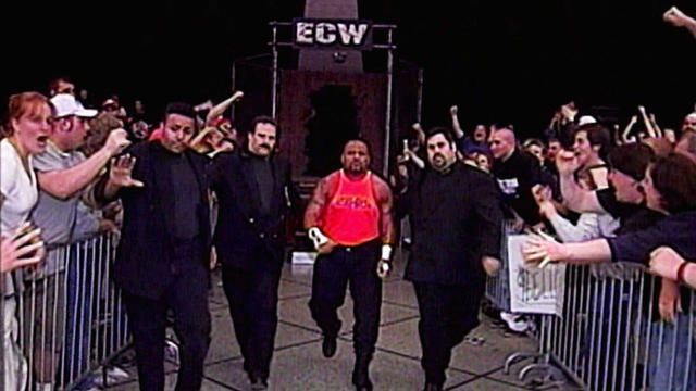 Tazz vs. Mike Awesome - ECW Championship Match: Hardcore TV, April 14, 2000 | WWE