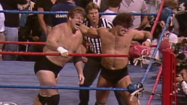 Rick Martel vs. Stan Hansen - AWA Championship Match: SuperClash ...