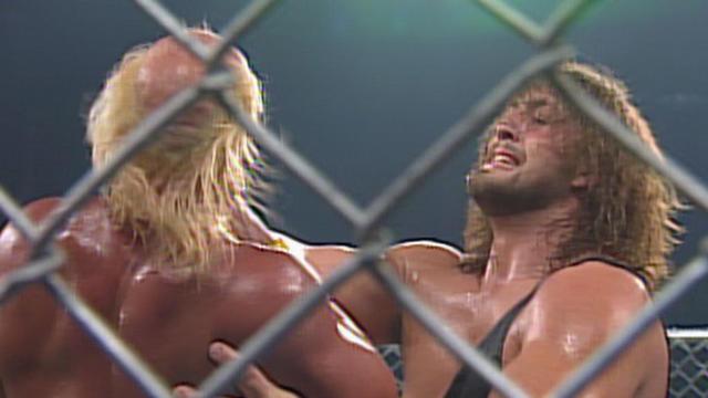 Hulk Hogan vs. The Giant - Steel Cage Match: SuperBrawl VI | WWE