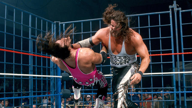 Bret Hart vs. Diesel - WWE Championship Steel Cage Match: In Your House 6 |  WWE