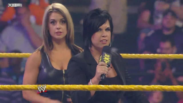 WWE NXT: Vickie Guerrero re-introduces Kaitlyn | WWE