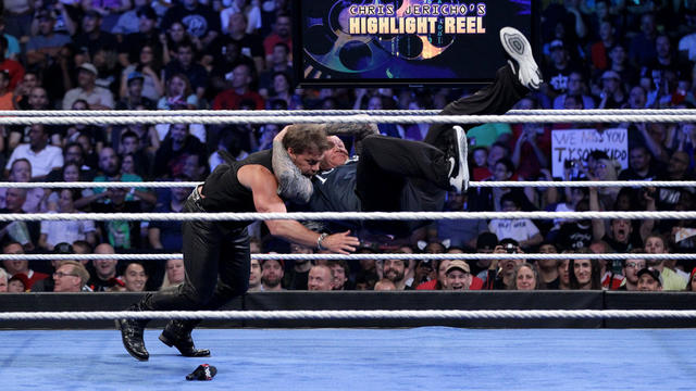 "Randy Orton RKOs Chris Jericho on ""The Highlight Reel"""
