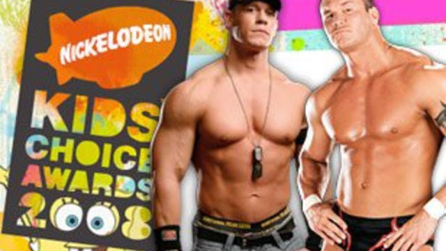 Cena and Orton nominated for Nick UK's Kids' Choice Awards