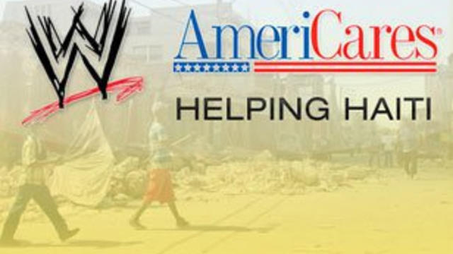 An update on WWE and AmeriCares Haiti relief efforts