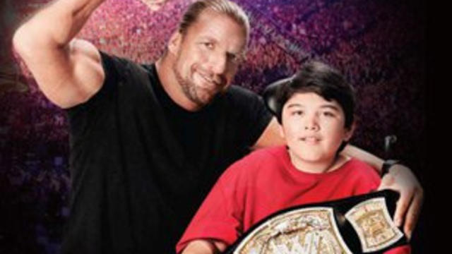 Triple H joins MDA's Muscle Team