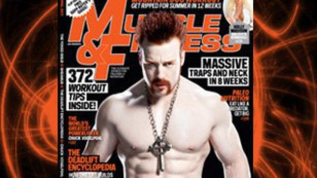 "Sheamus' Celtic Warrior workout revealed in ""Muscle & ..."