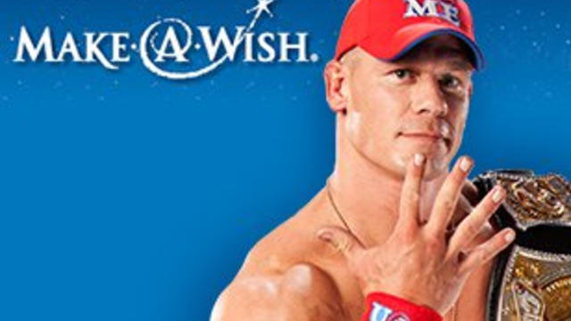 Wish kid blogs about meeting Cena