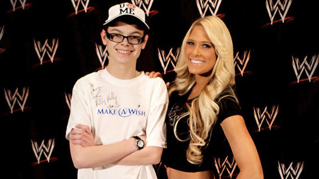 Kelly Kelly grants her first wish