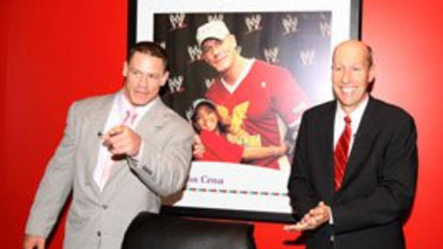Make-A-Wish Foundation honors WWE and John Cena for ...