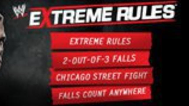 Extreme Rules Cheat Sheet