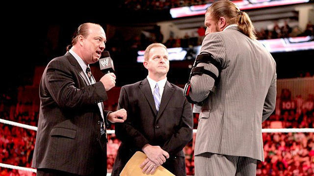 What happens if Brock Lesnar and Paul Heyman are in the ...