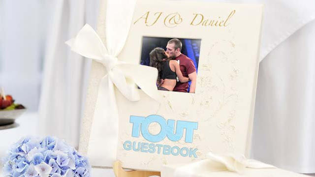 Tout your wedding wishes to Daniel Bryan and AJ