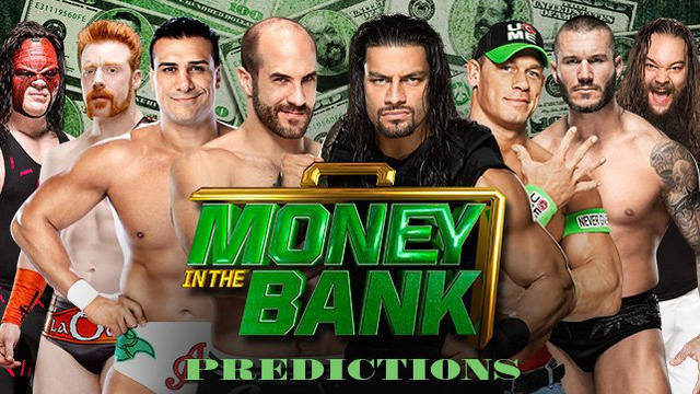 WWE Money in the Bank 2014 predictions