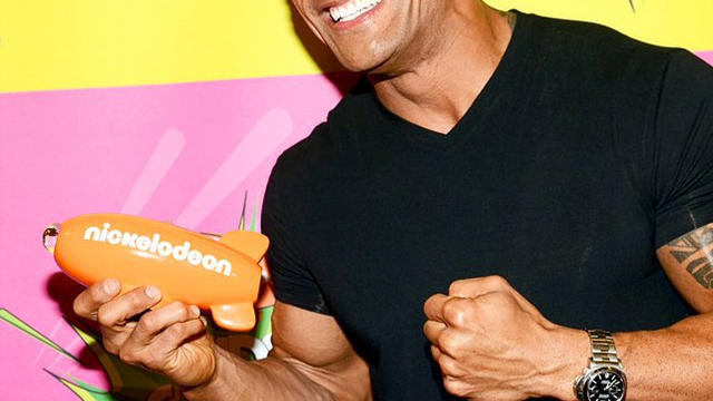 The Rock and The Miz at the 2013 Nickelodeon Kids' Choice ...